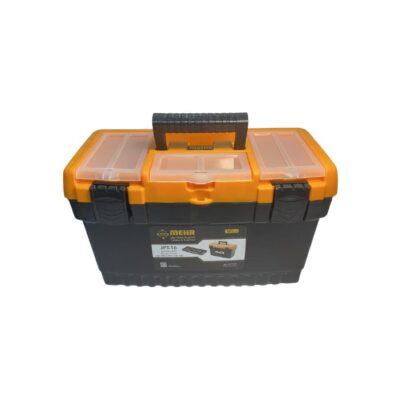 جعبه ابزار پلاستيکي 16 اينچ قفل پلاستيکي بلند مهر JPT16