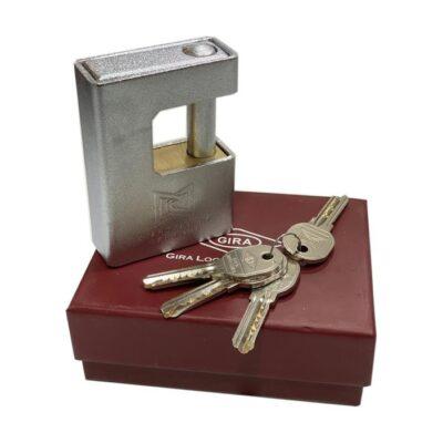 قفل 970 سوپر جي روکشدار برنجي کامپيوتري کليد ايزويي (گيرا 036)