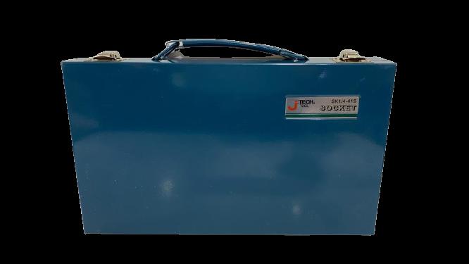 جعبه بکس 41 پارچ 1/4 درايو جي تک